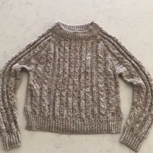 Ambiance Brown Knitted Sweater